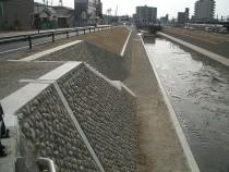 瀬戸川河川工事