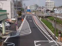 道路改築工事
